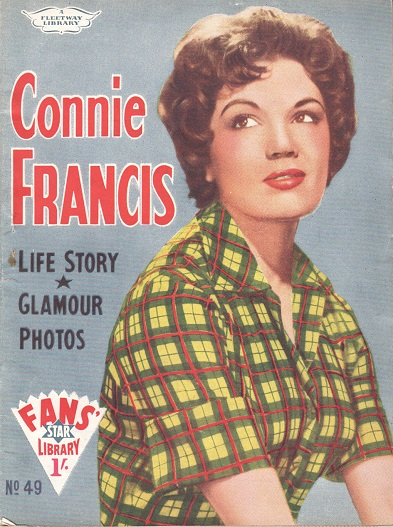 Connie Francis fan mag