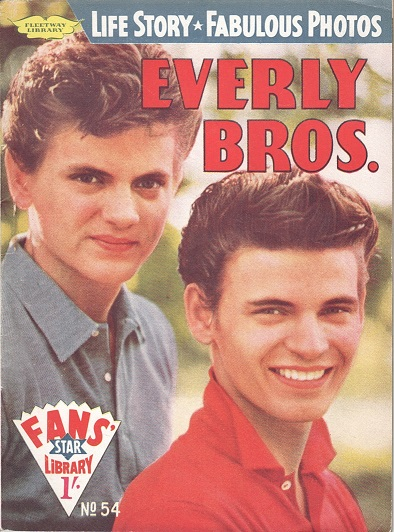 The Everly Brothers fan mag