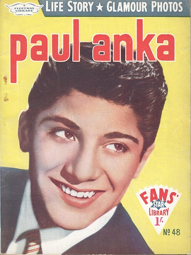 Paul Anka fan mag