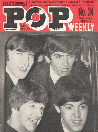 Beatles fan mag slider
