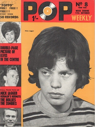 Mick Jagger fan mag slider