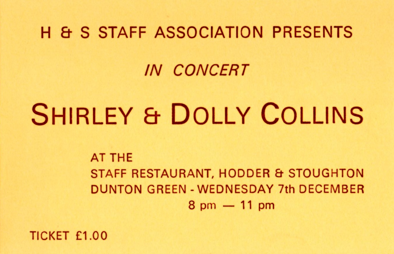 Collins sisters in concert ticket