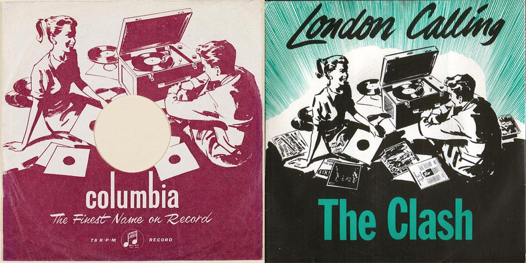 London Calling single cover