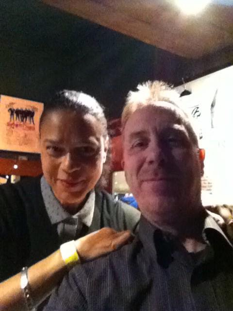 Pauline Black with Neil Waite