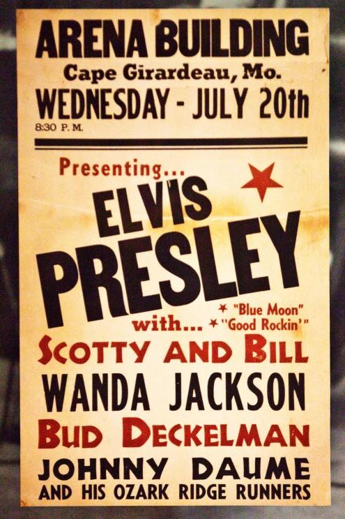 Wanda Jackson Elvis poster