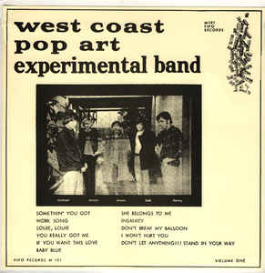 The West Coast Pop Art Experimental Band Volume One