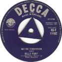 Billy Fury Maybe Tomorrow