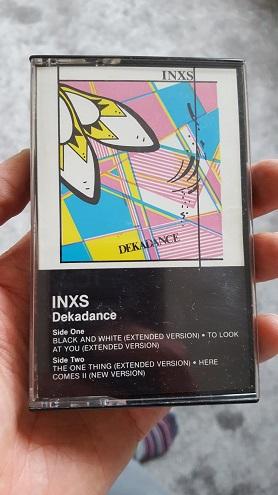 INXS Dekadance cassette