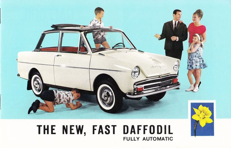 New Fast Automatic Daffodils car ad