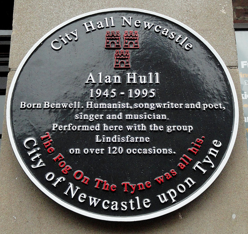 Alan Hull plaque