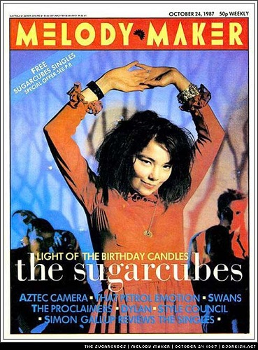 The Sugarcubes poster