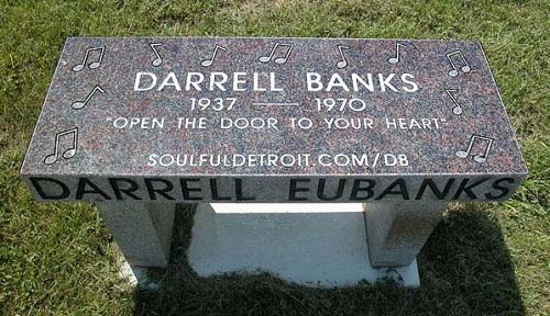 Darrell Banks bench