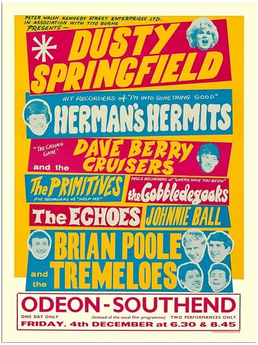 Dusty Springfield poster