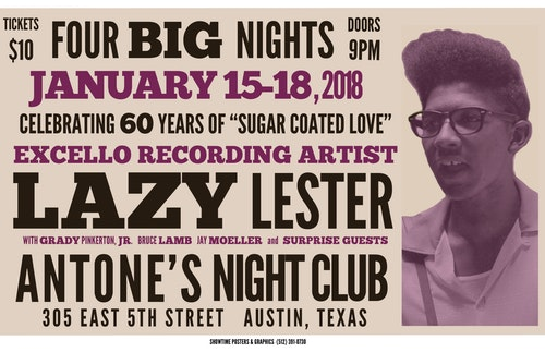 Lazy Lester poster
