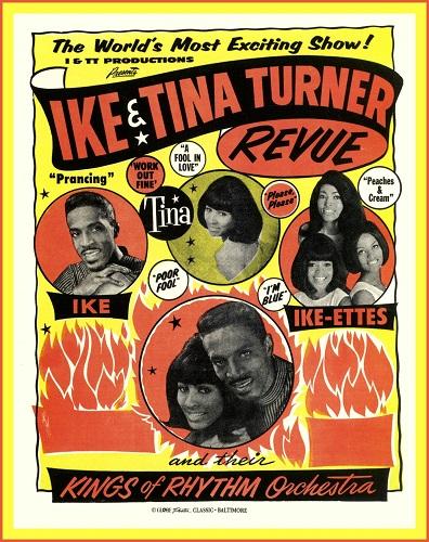 Ike & Tina Turner Revue poster