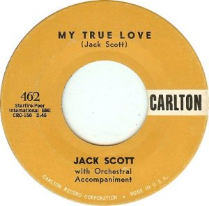 Jack Scott My True Love