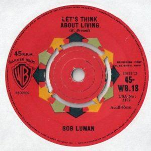 Bob Luman Let's Think About Living