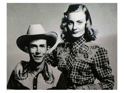 Hank and Audrey Williams photo