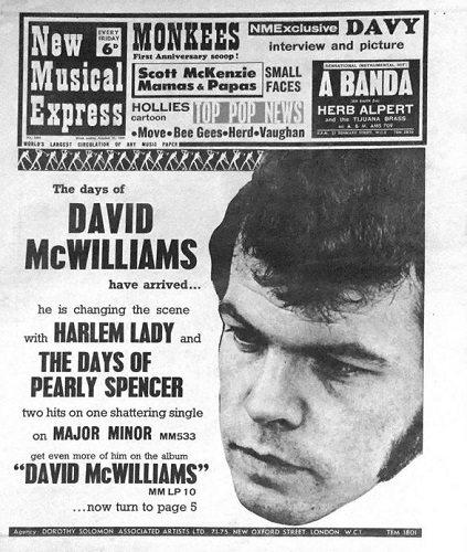 David McWilliams poster