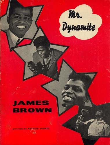 James Brown Walthamstow Poster