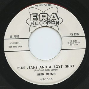 Glen Glenn Blue Jeans and a Boys' Shirt