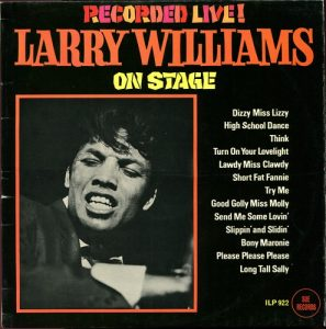 Larry Williams On Stage Recorded Live