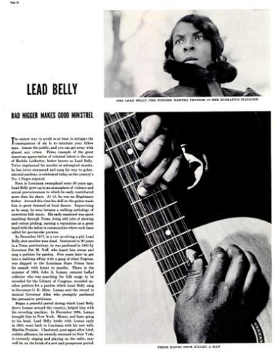 Leadbelly photo 5