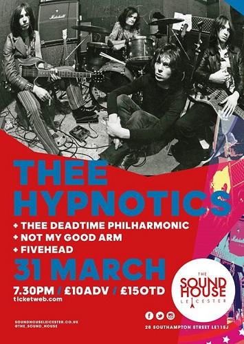 Thee Hypnotics poster 2