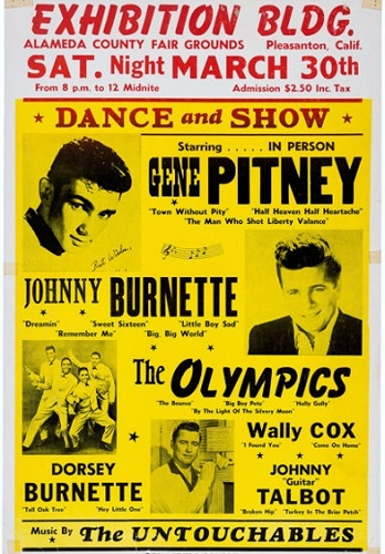 Johnny Burnette poster
