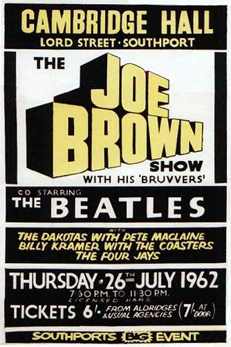 Joe Brown poster 2