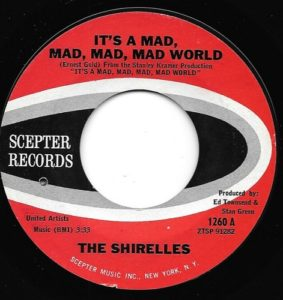 The Shirelles It's A Mad Mad Mad Mad World