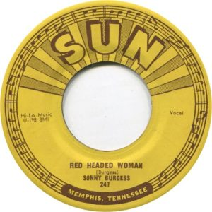 Sonny Burgess Red Headed Woman