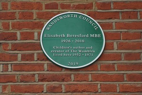 Elisabeth Beresford plaque