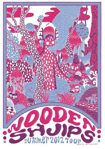 Wooden Shjips poster 1
