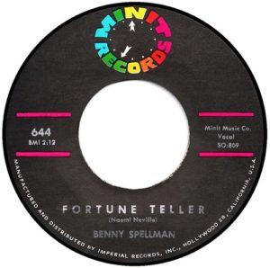 Benny Spellman Fortune Teller