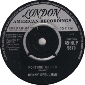 Benny Spellman Fortune Teller (London)