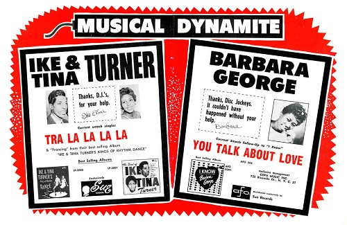Barbara George poster