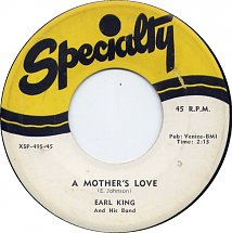 Earl King A Mother's Love