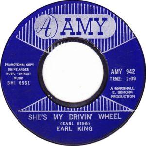 Earl King She's My Drivin' Wheel