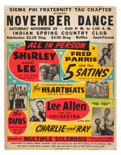 Shirley & Lee poster