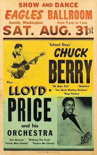 Lloyd Price poster