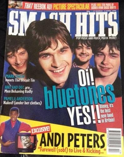 The Bluetones poster