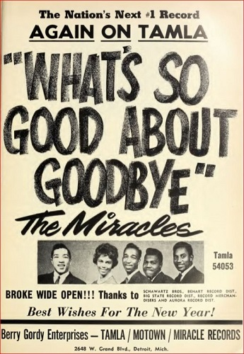 The Miracles ad 1