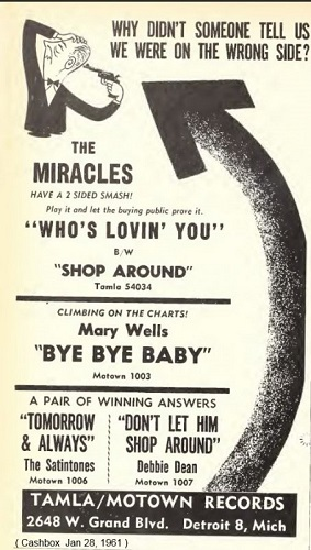 The Miracles ad 2