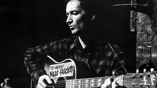 Woody Guthrie photo 1
