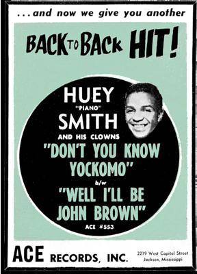 Huey Smith poster 1