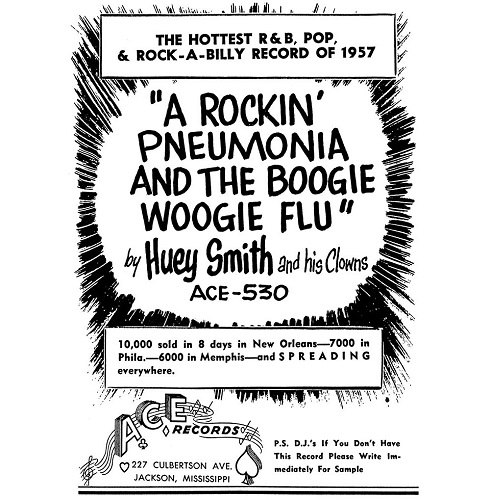 Huey Smith poster 2