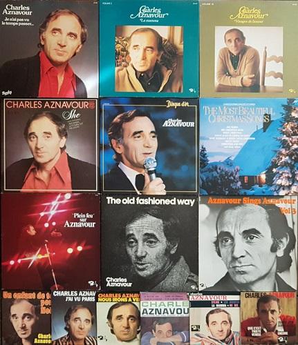 Charles Aznavour records