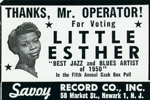 Esther Phillips poster 2