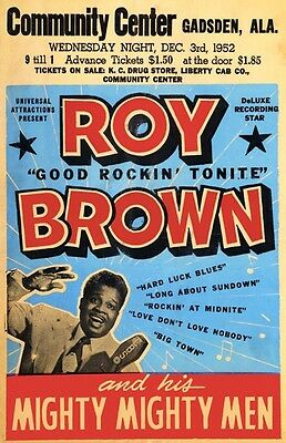 Roy Brown poster